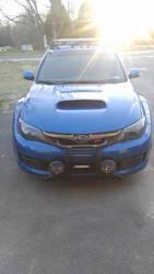 2008 Subaru WRXSTI 118135 miles